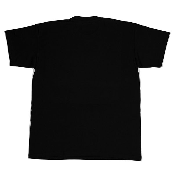 Two Birds Black Small Logo T-shirt Back